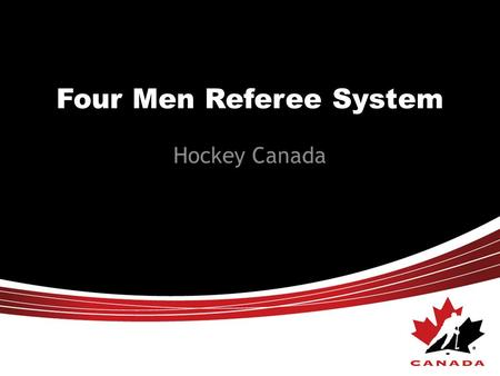Four Men Referee System