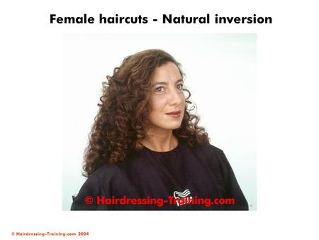 Female haircuts - Natural inversion
