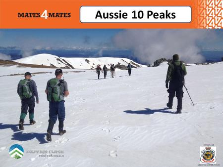 Aussie 10 Peaks. Adventure Challenge Facts Dates: 20 th – 23 th October 2013 Start:Canberra, Australia Finish:Canberra, Australia Duration:4 Days Hotels:3.
