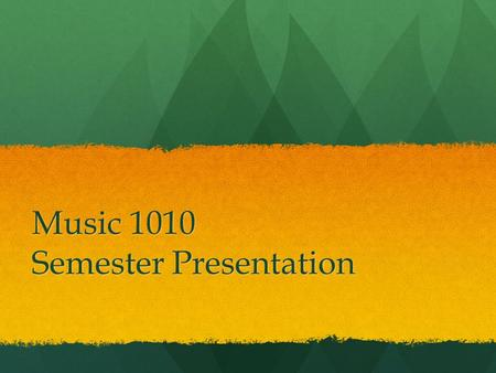 Music 1010 Semester Presentation. BRUCEROWLAND Composer and Conductor.