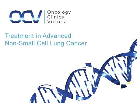 Treatment in Advanced Non-Small Cell Lung Cancer.