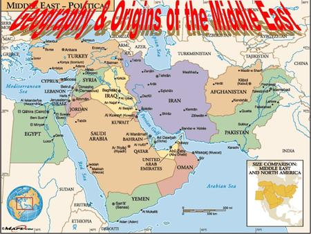 Geography & Origins of the Middle East