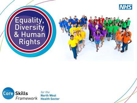 What you will learn in this session 1.Principles of Equality, Diversity and Human Rights 2.Relevant legislation, Trust policies and processes 3.Individual.