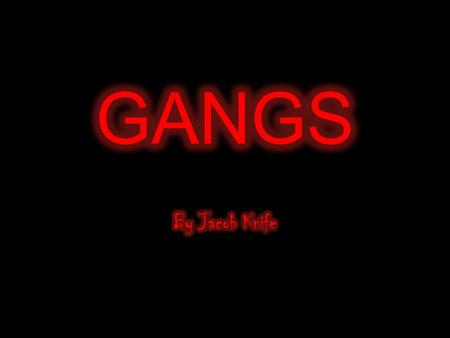 Gang A gang can be a group of criminals or delinquents who band together for mutual protection and profit. A gang can also be a group of people who associate.