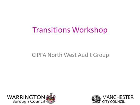 CIPFA North West Audit Group