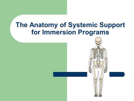 The Anatomy of Systemic Support for Immersion Programs.