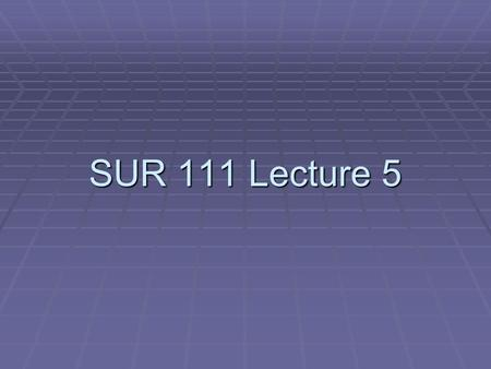 SUR 111 Lecture 5. Today's Topics  Supplies  Sterile Packs  Establishing the Sterile Field  Opening the Sterile Field.