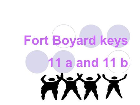 Fort Boyard keys 11 a and 11 b. Library A lot of spots. A long, long neck A funny scarf. It 's a …