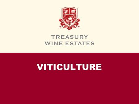 VITICULTURE. INTRODUCTION In this module, we will introduce the basic terms and concepts of viticulture — the science of fine wine grape growing. We will.