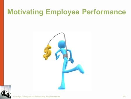 Motivating Employee Performance
