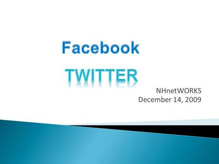 NHnetWORKS December 14, 2009.  Facebook is a global Social Networking website that is operated and privately owned by Facebook, Inc.  Users can add.