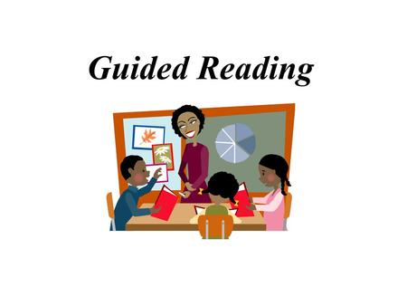 Guided Reading Objectives General Understanding of Guided Reading Essential Elements of G.R. Dyer-Kelly's G.R. Book Club Structure Use of Icons to build.