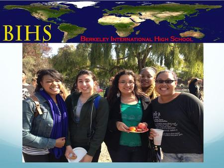 AGENDA What is the BIHS Program? Elements of the BIHS Program Student Options Student Support Question and Answer.