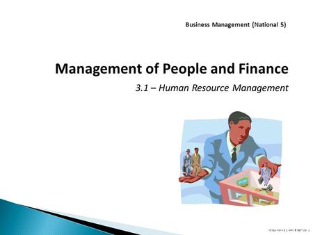 Business Management (National 5)