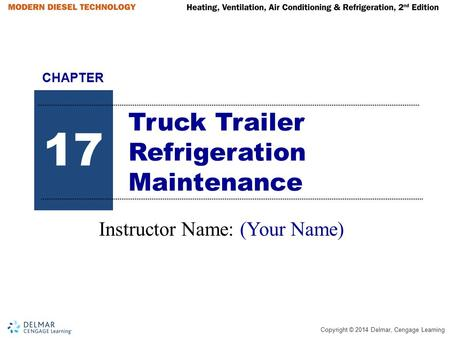 Truck Trailer Refrigeration Maintenance