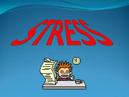 What Is Stress? Defense mechanism Threats World turned upside down.