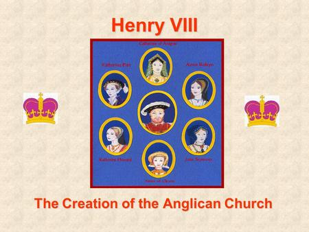 Henry VIII The Creation of the Anglican Church. Henry VIII... Becomes King at age 18 –BUT only after his brother Arthur died unexpectedly Was a devout.