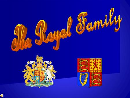 The British Royal family The 1 st game The flag of Great Britain.