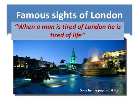 Oxford Street Ppt Download