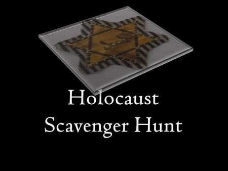  There are frequently asked questions about the Holocaust that most students ask.  To sufficiently answer each question, each answer must be at least.