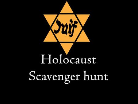  These are some of the frequently asked questions about the Holocaust that most students ask. In your table groups divide the questions and answer them.