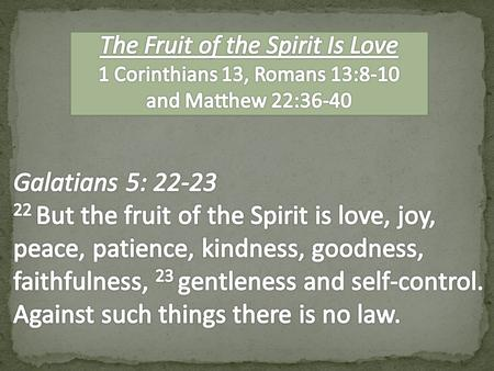 1 Corinthians 12 1 Now about spiritual gifts, brothers, I do not want you to be ignorant. 31 …And now I will show you the most excellent way. 1 Corinthians.