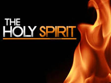 """The Holy Spirit is the Spirit of God, fully divine."" Not ""it"" but ""He"""