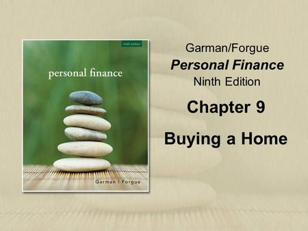 Chapter 9 Buying a Home.