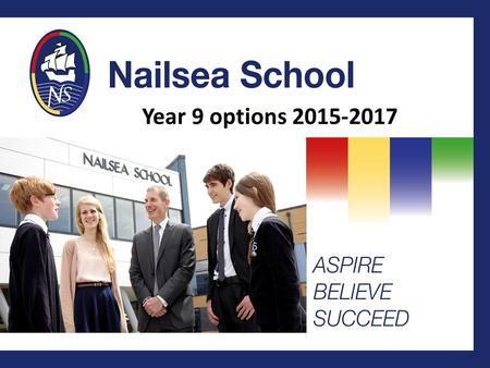 Year 9 options 2015-2017. Aims of the meeting To update you with changes to the examination system from 2017 To explain the structure of the Key Stage.
