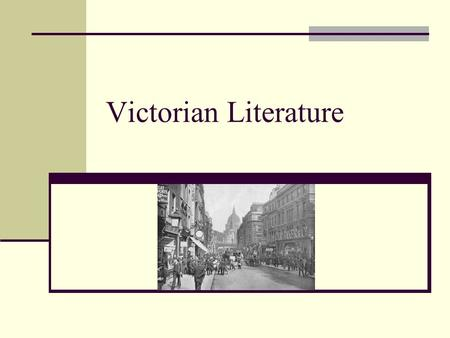 Victorian Literature. Victorian era Refers to the time during the reign of Queen Victoria 1837-1901.