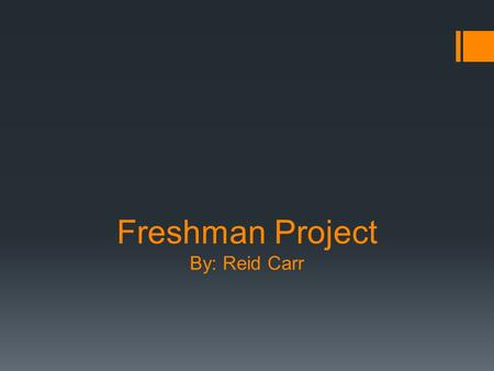 Freshman Project By: Reid Carr. Purpose  The purpose of my project was to create a website for other diesel enthusiast like myself. I wanted to give.
