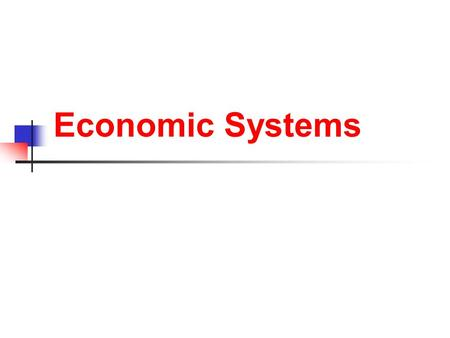 Economic Systems. How Does An Economy Work? Nations must answer 3 basic Economic question: What goods and services should be produced? How should the.