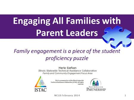 Engaging All Families with Parent Leaders