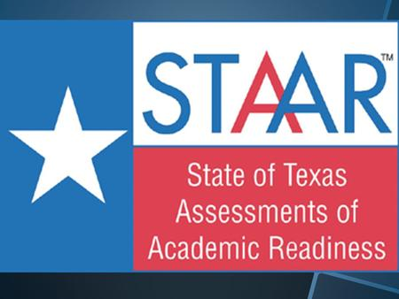 The State of Texas Assessments of Academic Readiness (STAAR) is the current state assessment program that began in spring 2012. For students in grades.