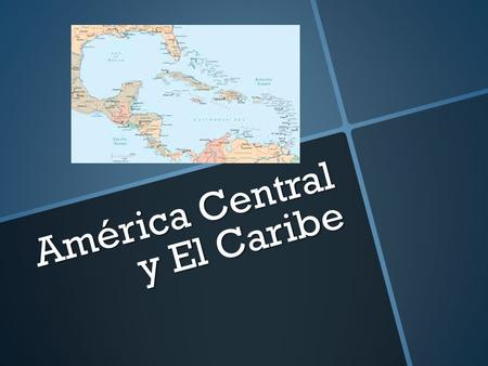América Central y El Caribe. MÉXICO México is the most populous Spanish-speaking country in the world.