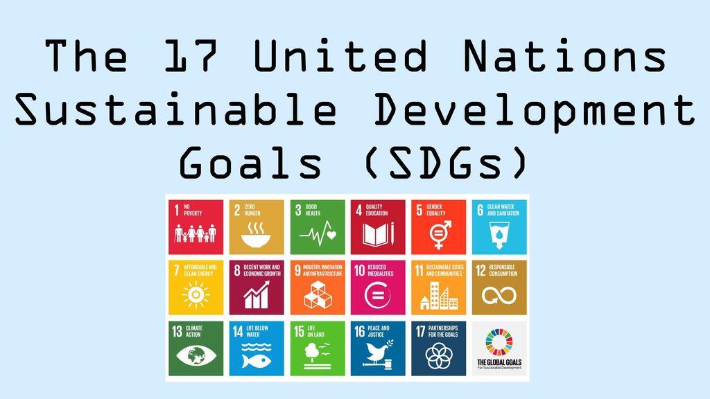 Sustainable Development Goals Sdgs Ppt Download
