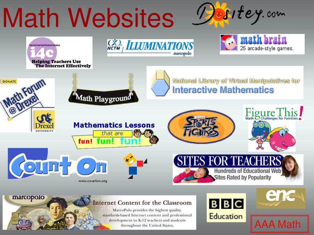 Math Websites Math Playground Aaa Math Ppt Download