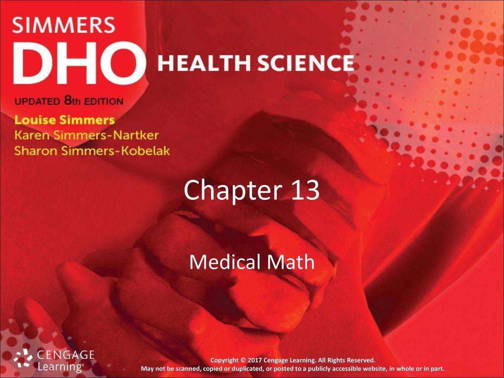 Chapter 13 Medical Math Ppt Download [ 768 x 1024 Pixel ]