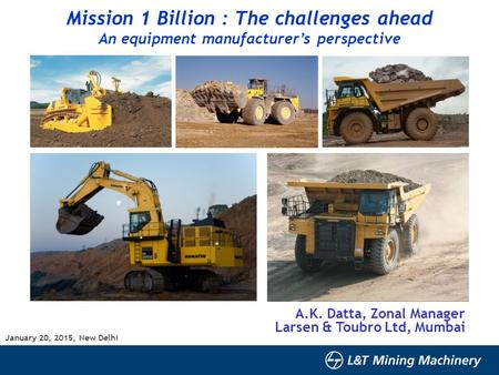 Mission 1 Billion : The challenges ahead