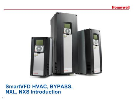 SmartVFD HVAC, BYPASS, NXL, NXS Introduction