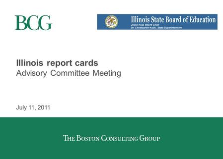 Illinois report cards project introduction to the p 20 council april illinois report cards advisory committee meeting july 11 2011 reheart Images