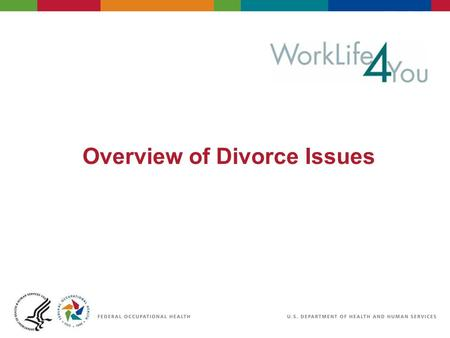 Overview of Divorce Issues. Objectives This seminar provides helpful and practical information for those experiencing all stages of a divorce or separation.