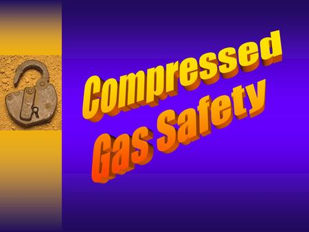 General Rules Compressed gases and cylinders must be properly stored, transported and used to prevent injury and accidents. Compressed gases and cylinders.