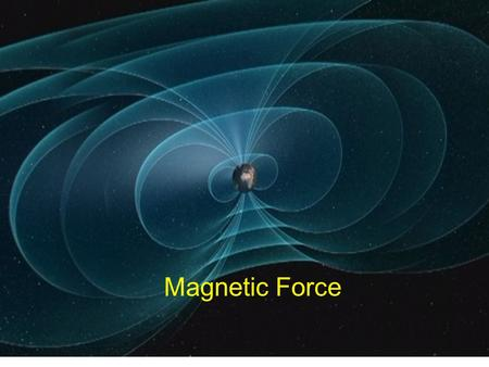 Magnetic Force.