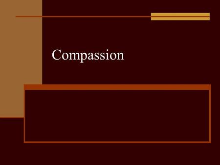 "Compassion. Introduction The Concise Oxford English Dictionary defines ""compassion"" as ""sympathetic pity and concern for the sufferings or misfortunes."