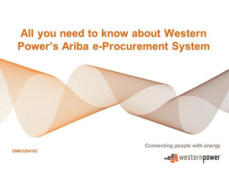 All you need to know about Western Power's Ariba e-Procurement System
