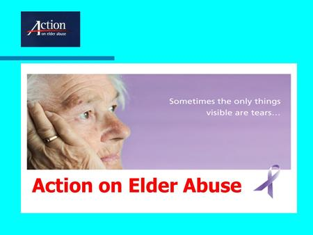 Action on Elder Abuse. Much, but not all, of the new legislation is about infrastructure Statutory basis of Safeguarding Boards A duty to cooperate Brief.