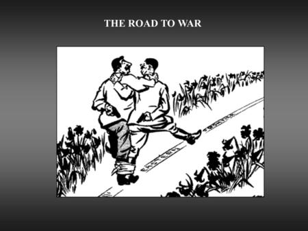 "THE ROAD TO WAR. SOVIET FOREIGN POLICY  New Focus  Growing Nazi threat  Turn to West  The ""Popular Front"" Maxim Litvinov, Foreign Commissar, 1930-1939."