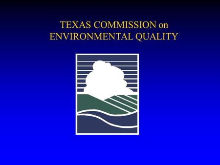 TEXAS COMMISSION on ENVIRONMENTAL QUALITY. PROPOSED STUCTURE FOR CHAPTER 217 < Subchapter A Administrative Provisions < Subchapter B Design Bases < Subchapter.