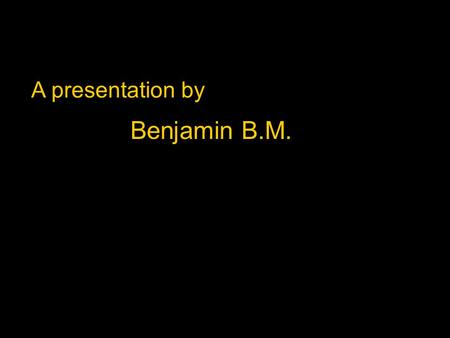 A presentation by Benjamin B.M.. John Paul II – the person I admire.